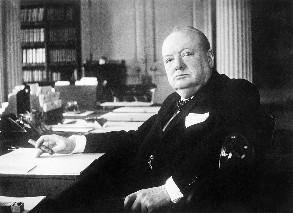 1024px Winston Churchill As Prime Minister 1940 1945 MH26392